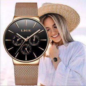 Luxury Quartz Ladies Exquisite Waterproof Watch